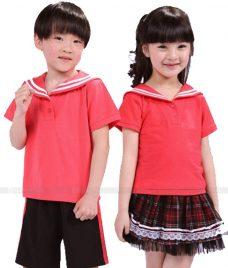 GLU Dong Phuc Mam Non MN53 áo thun đồng phục