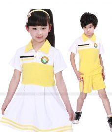 GLU Dong Phuc Mam Non MN54 áo thun đồng phục