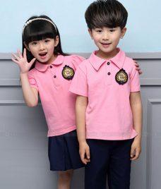 GLU Dong Phuc Mam Non MN56 áo thun đồng phục