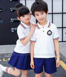 GLU Dong Phuc Mam Non MN57 áo thun đồng phục