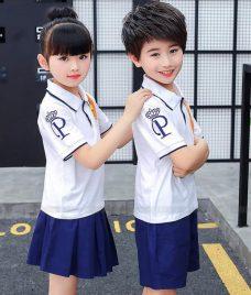 GLU Dong Phuc Mam Non MN58 áo thun đồng phục