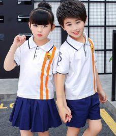 GLU Dong Phuc Mam Non MN59 áo thun đồng phục