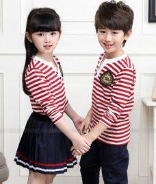 GLU Dong Phuc Mam Non MN60 áo thun đồng phục