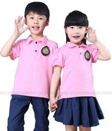 GLU Dong Phuc Mam Non MN62 áo thun đồng phục