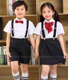 GLU Dong Phuc Mam Non MN63 áo sơ mi đồng phục