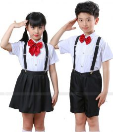 GLU Dong Phuc Mam Non MN64 áo sơ mi đồng phục