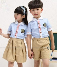 GLU Dong Phuc Mam Non MN69 áo sơ mi đồng phục