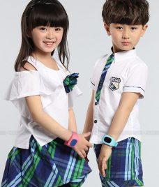 GLU Dong Phuc Mam Non MN70 áo sơ mi đồng phục