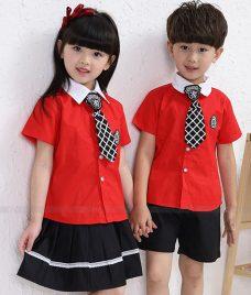 GLU Dong Phuc Mam Non MN71 áo sơ mi đồng phục
