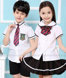 GLU Dong Phuc Mam Non MN72 áo sơ mi đồng phục