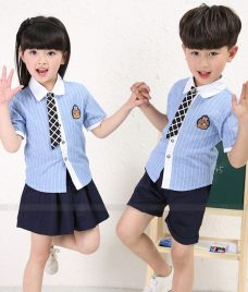GLU Dong Phuc Mam Non MN73 áo sơ mi đồng phục