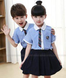 GLU Dong Phuc Mam Non MN83 áo sơ mi đồng phục