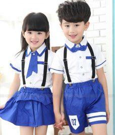 GLU Dong Phuc Mam Non MN88 áo sơ mi đồng phục