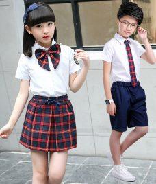 GLU Dong Phuc Mam Non MN91 áo sơ mi đồng phục
