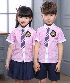 GLU Dong Phuc Mam Non MN92 áo sơ mi đồng phục