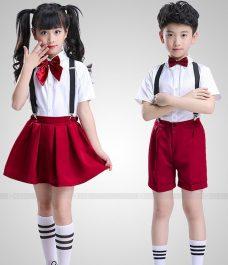 GLU Dong Phuc Mam Non MN93 áo sơ mi đồng phục