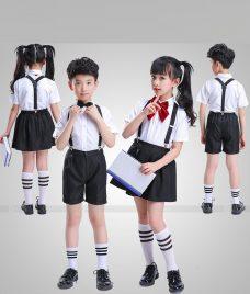 GLU Dong Phuc Mam Non MN94 áo sơ mi đồng phục