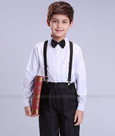 GLU Dong Phuc Mam Non MN98 áo sơ mi đồng phục
