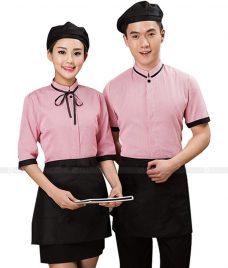 Dong phuc quan cafe GLU CF267 may áo quán cafe