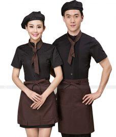 Dong phuc quan cafe GLU CF268 may áo quán cafe