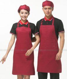 Dong phuc quan cafe GLU CF271 may áo quán cafe