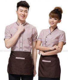 Dong phuc quan cafe GLU CF275 may áo quán cafe