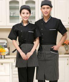 Dong phuc quan cafe GLU CF286 may áo quán cafe