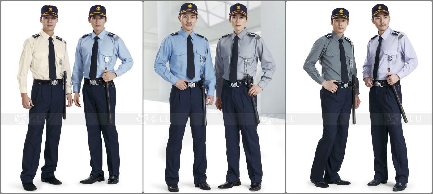 May đồng phục bảo vệ theo yêu cầu