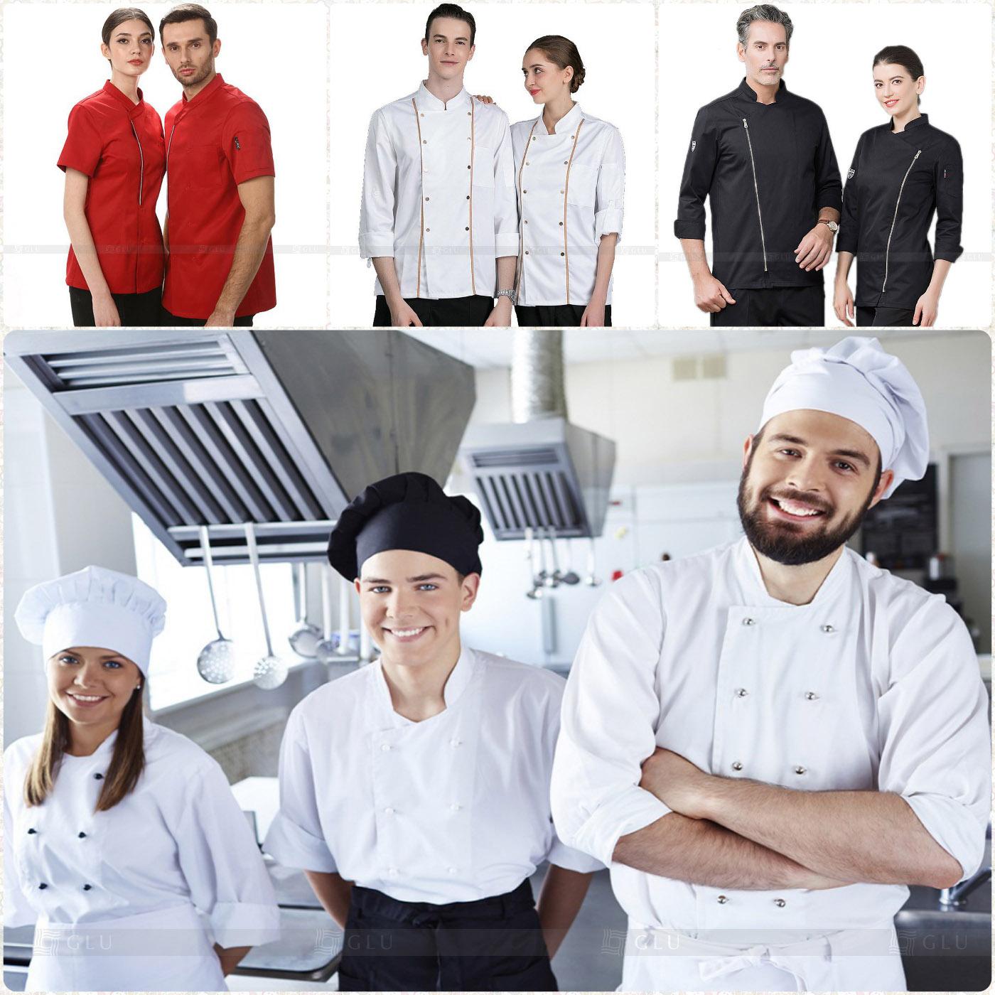 May đồng phục bếp tại GLU