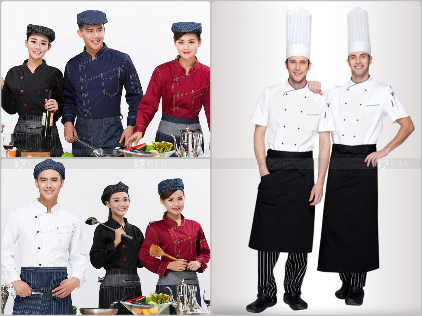 May đồng phục bếp tại TPHCM