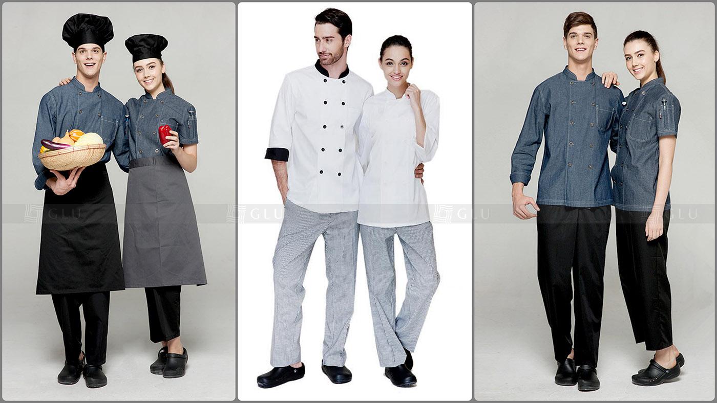 Áo đồng phục bếp đẹp