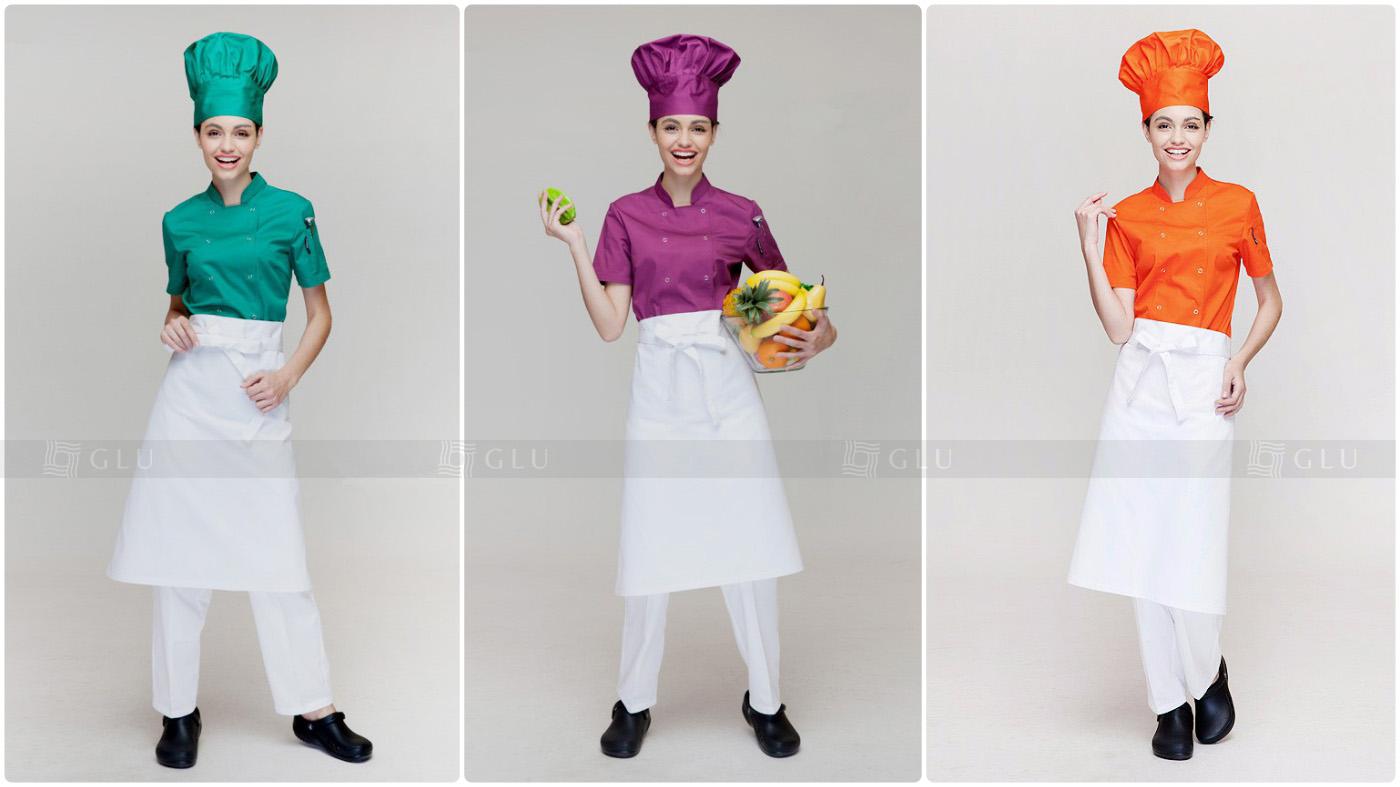 May đồng phục bếp giá rẻ
