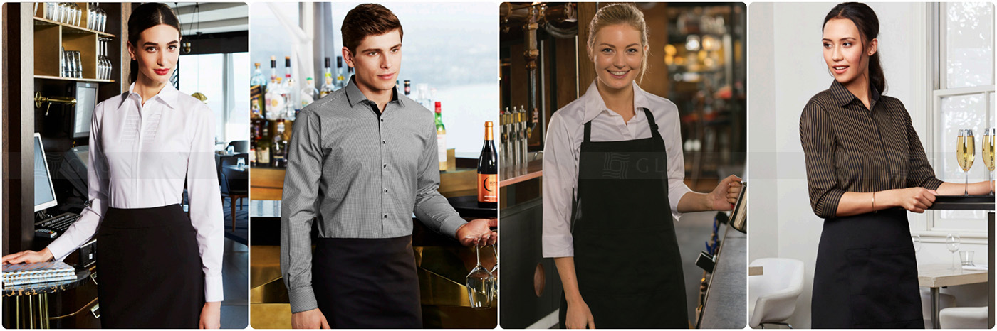 May đồng phục nhà hàng khách sạn tại TPHCM