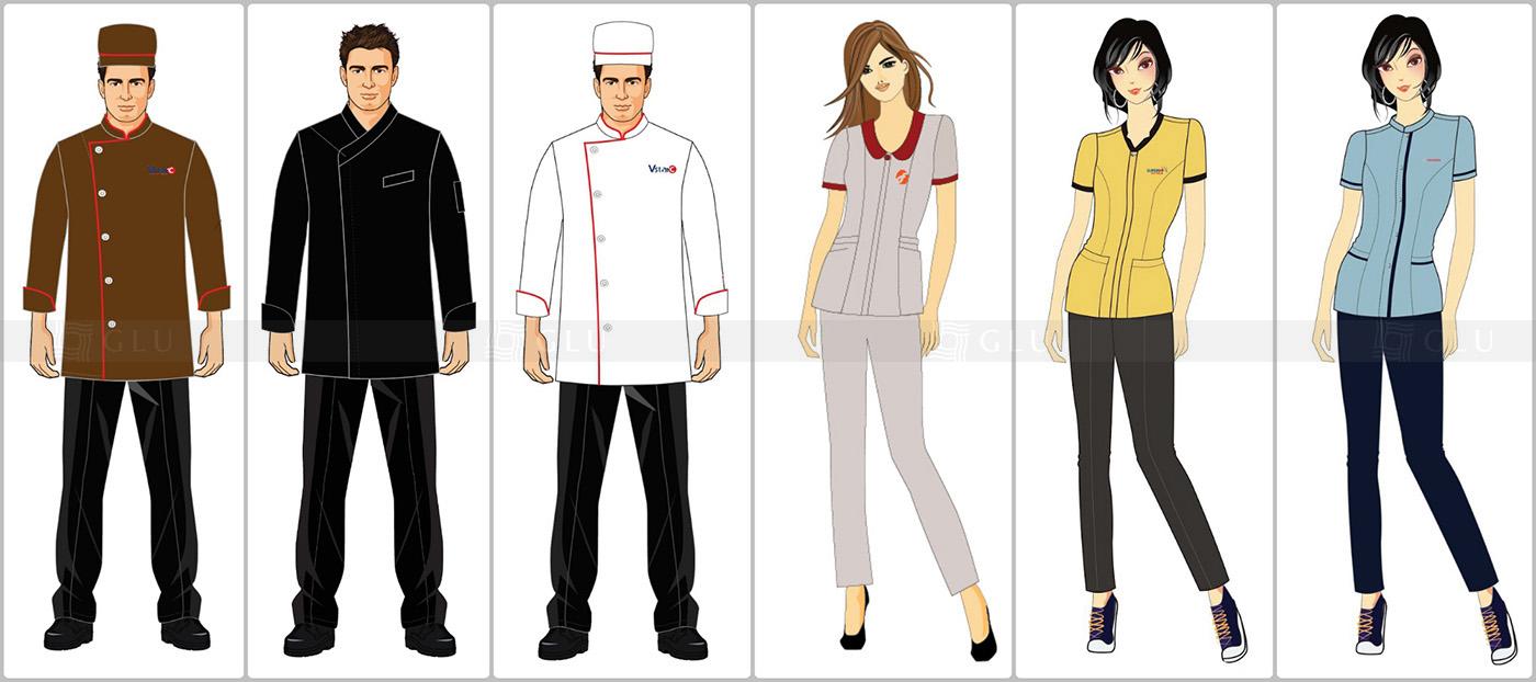 Thiết kế đồng phục nhà hàng miễn phí