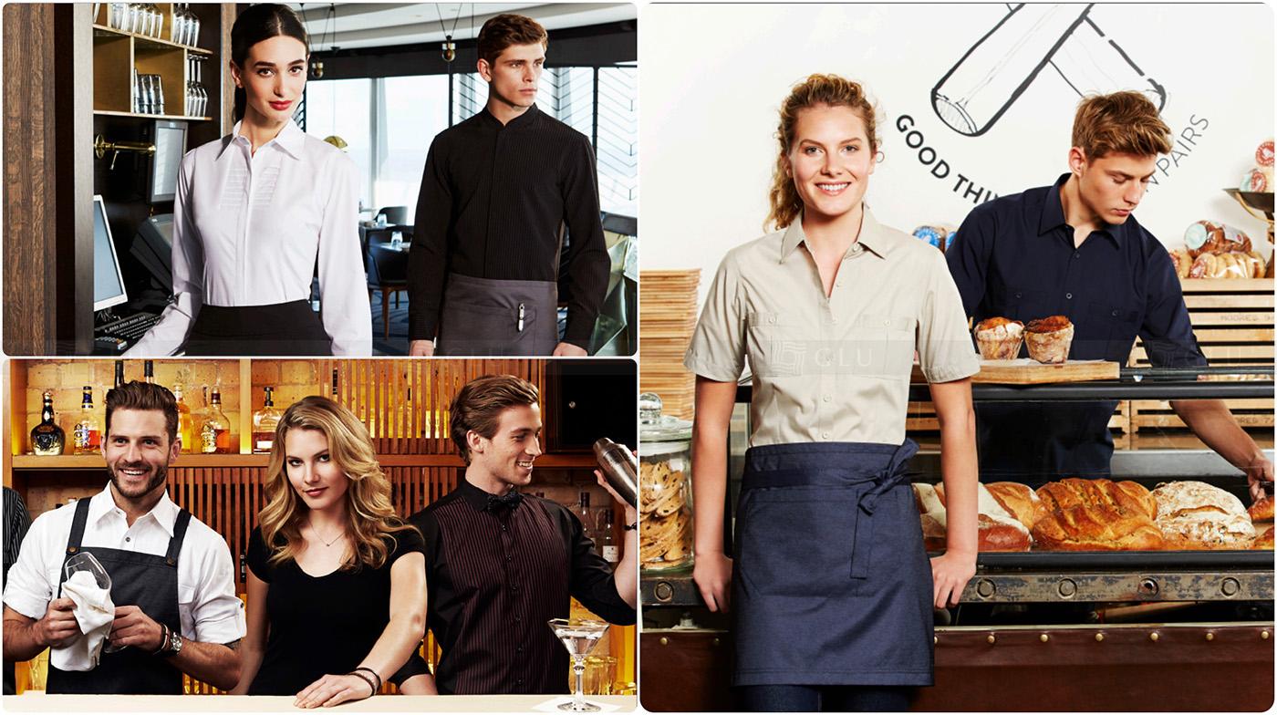 May đồng phục nhà hàng đẹp