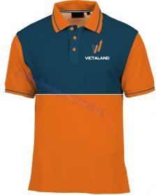 AO THUN VICTALAND ATCT15 áo thun đồng phục công sở