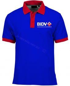 Ao thun ngan hang BIDV ATCT73 áo thun văn phòng